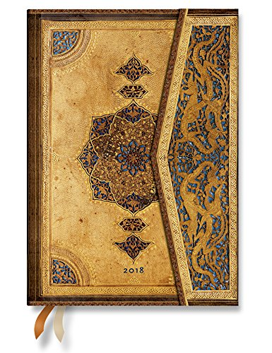Safavid Midi Day-At-A-Time Planner 2018 by Paperblanks