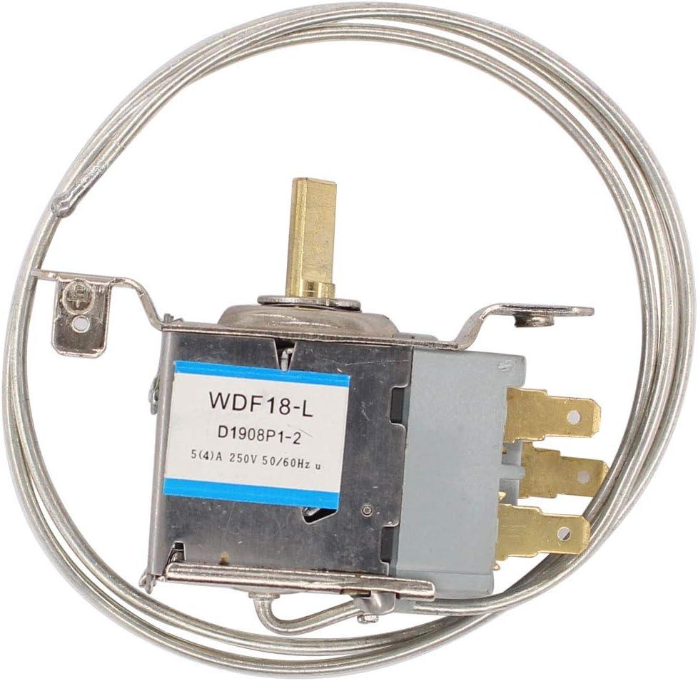 ApplianPar Universal Fridge Freezer Refrigerator Thermostat Temperature Control 3 Pin WDF18-L