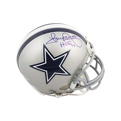939e82eaa Image Unavailable. Image not available for. Color: Tony Dorsett HOF 94 Autographed  Dallas Cowboys Mini Football Helmet - BAS COA