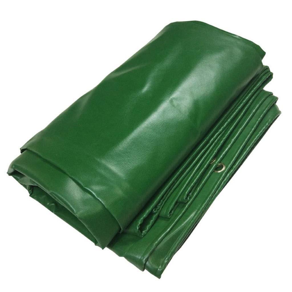 Yuke Verdicken Sie PVC-Regenschutztuch Wasserdichte Plane Heavy Duty Sheet Covers 500g   m² (größe   3x5m)