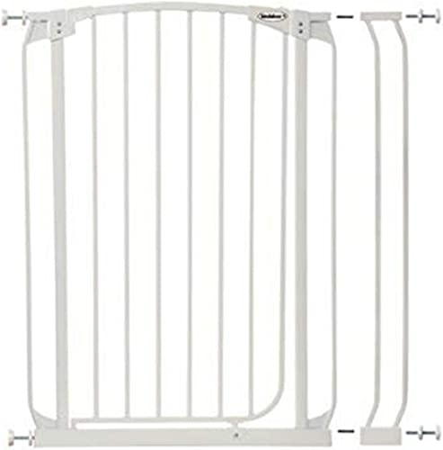 Bindaboo Swing Closed Security Gate, Extra Tall, White