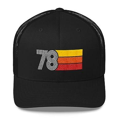 Amazon 40th Birthday Vintage 1978 Retro Trucker Hat Styleuniversal Clothing