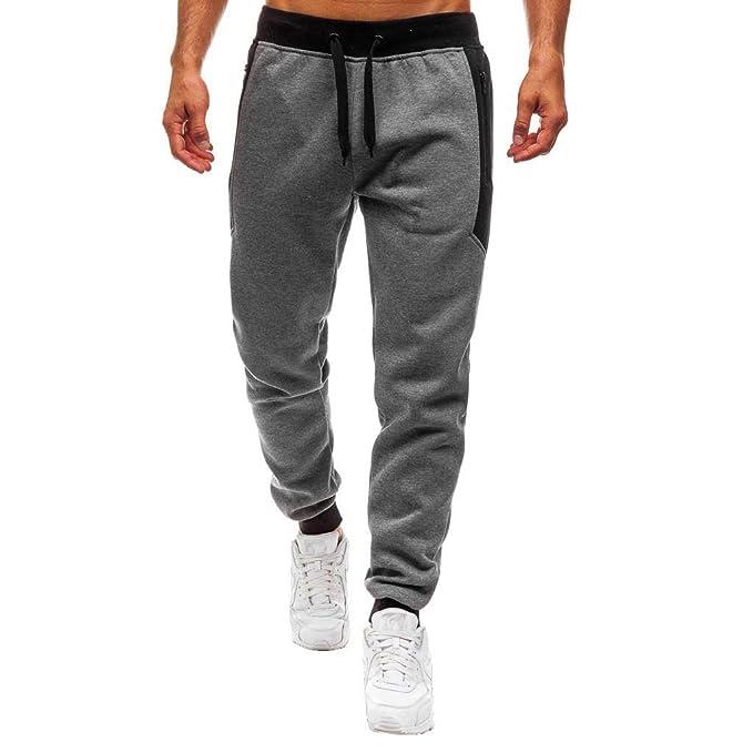 großartige Qualität beste Angebote für detaillierte Bilder Frashing Herren Lässige Hosen Bequeme Jogginghose Tasche mit ...