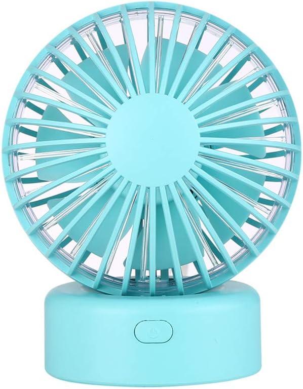 Younthone - Mini Ventilador de Mesa portátil, USB, diseño de ...