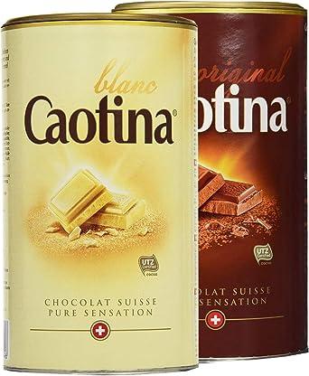 Caotina Original Chocolate Tin White + Milk, 2 Pack, (2x500g ...