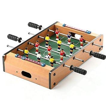 ZHJIUXING ZQ Portátil Futbolín De Mesa Madera Futbolines ...