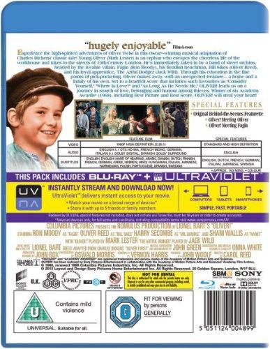 Oliver! [1968] [Region Free] [Reino Unido] [Blu-ray]: Amazon ...