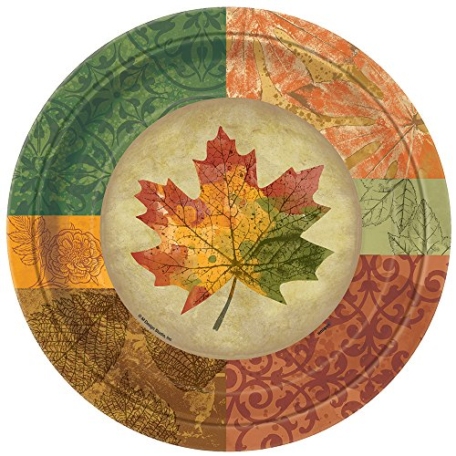 Rustic Fall Dinner Plates, 8ct (Fall Plates)