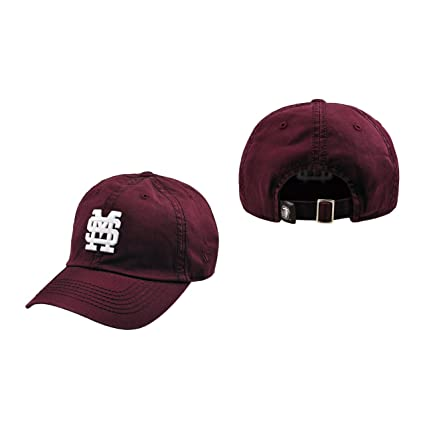 925f9b0f635 Mississippi State Hat Bulldogs NCAA Top of the World Crew Adjustable  Relaxed Fit Cap Maroon