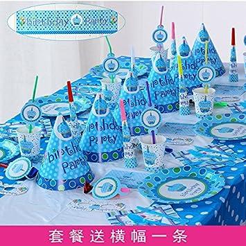 Cumpleaños infantiles juego de comedor estilo buffet ...