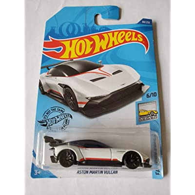 Hot Wheels 2020 Factory Fresh Aston Martin Vulcan, White 88/250: Toys & Games