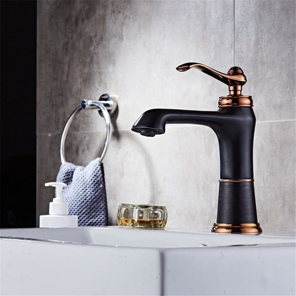 A NewBorn Faucet Kitchen Or Bathroom Sink Mixer Tap On The Rise-Washing Antique Hotel Full Copper Taps A