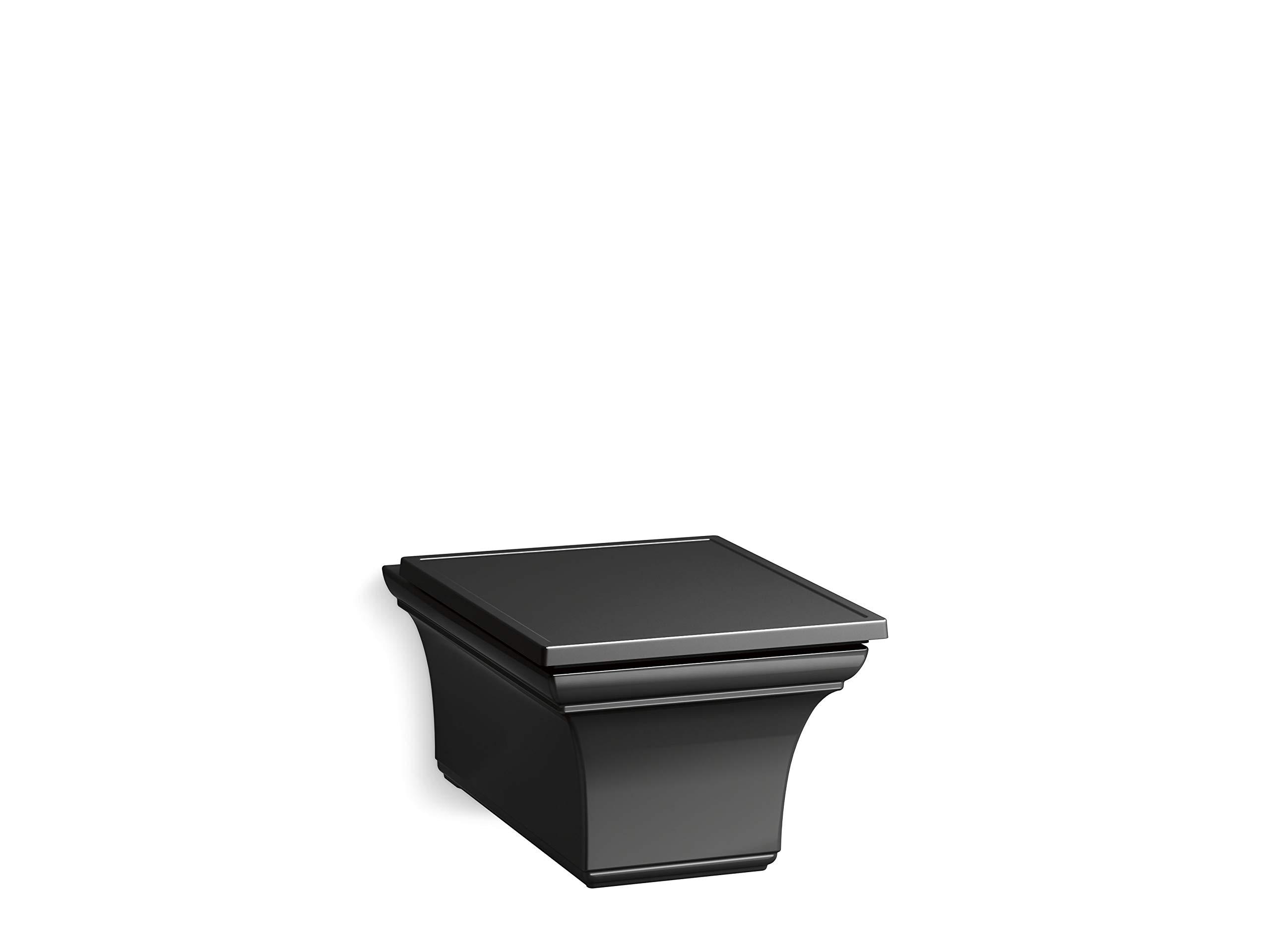 Kohler K-6918-7 Memoirs Toilet Black