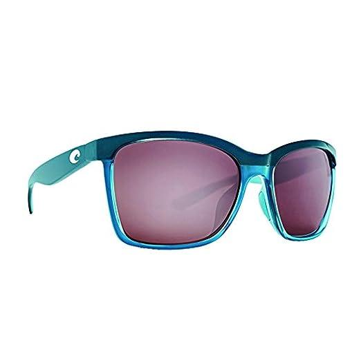c8f7e2dac1 Costa Anaa Sunglasses Sea Glass Copper Silver Mirror 580P   Carekit Bundle