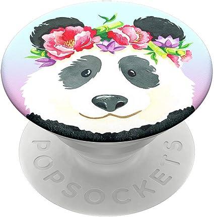Popsockets Popgrip Ausziehbarer Sockel Und Griff Für Smartphones Und Tablets Mit Einem Austauschbarem Top Pandachella Elektronik