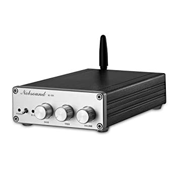 nobsound Bluetooth 4.0 tas5613 150 W + 75 W × 2 High Power Class D Digital Audio Amplifier 2.1 Channel Subwoofer Hi-Fi Power Amp Amplificador: Amazon.es: ...