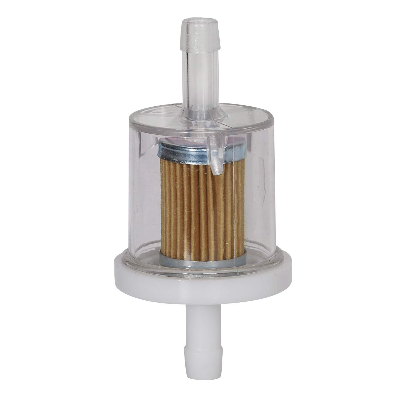 Pack of 10 JJDD 49019-7001 691035 Fuel Filter for Briggs /& Stratton Kawasaki Kohler 1//4 Inline Engines Lawn Mowers