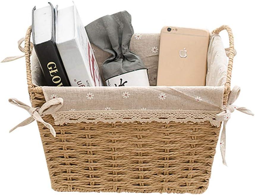 Durable Storage Basket Storage Box Book Magazine Rack High Capacity