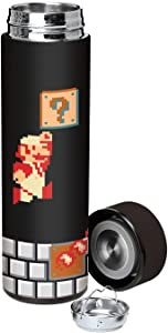 Super Mario Bros Classic Vacuum Insulated Stainless Steel Water Bottle - Fireball