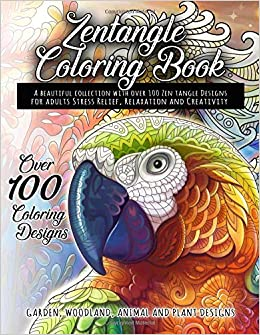 Amazon.com: Zentangle Coloring Book - A beautiful collection with ...