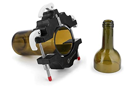 Cortador de Botellas, Genround Glass Bottle Cutter cortador de Botellas de Vidrio de vino Cortadora