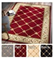 Sultan Sarouk Beige Persian Floral Oriental Formal Traditional Area Rug Easy to Clean Stain / Fade Resistant Shed Free Modern Contemporary Transitional Thick Soft Plush Living Dining Room Rug