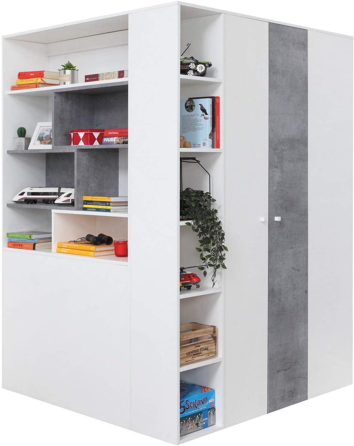 Furniture24 Eu Begehbarer Kleiderschrank Schrank Eckschrank