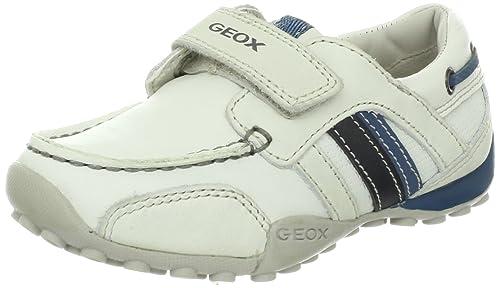 Geox, J3216E 04332 C1167, Nautico blanco de Niños: Amazon.es: Zapatos y complementos