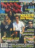 Metal Edge Magazine November 1999 Megadeth, Dokken, Great White