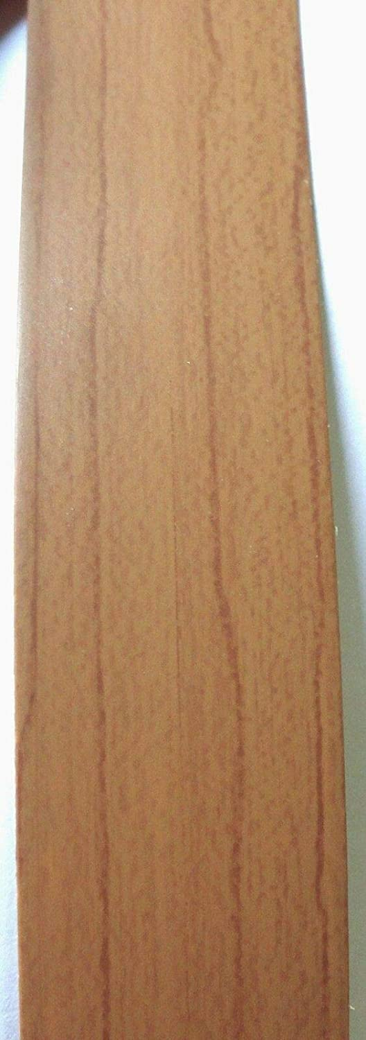 """Brite White Formica # 459 PVC edgebanding 3MM thick 1.625/"""" x 120/"""" inch roll 1//8/"""""""