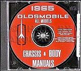 1965 Oldsmobile CD-ROM Repair Shop Manual & Body Manual