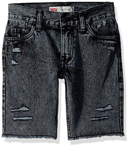 Levi's Little Boys' 511 Slim Fit Denim Shorts, Beach (Fire Stretch Jeans)