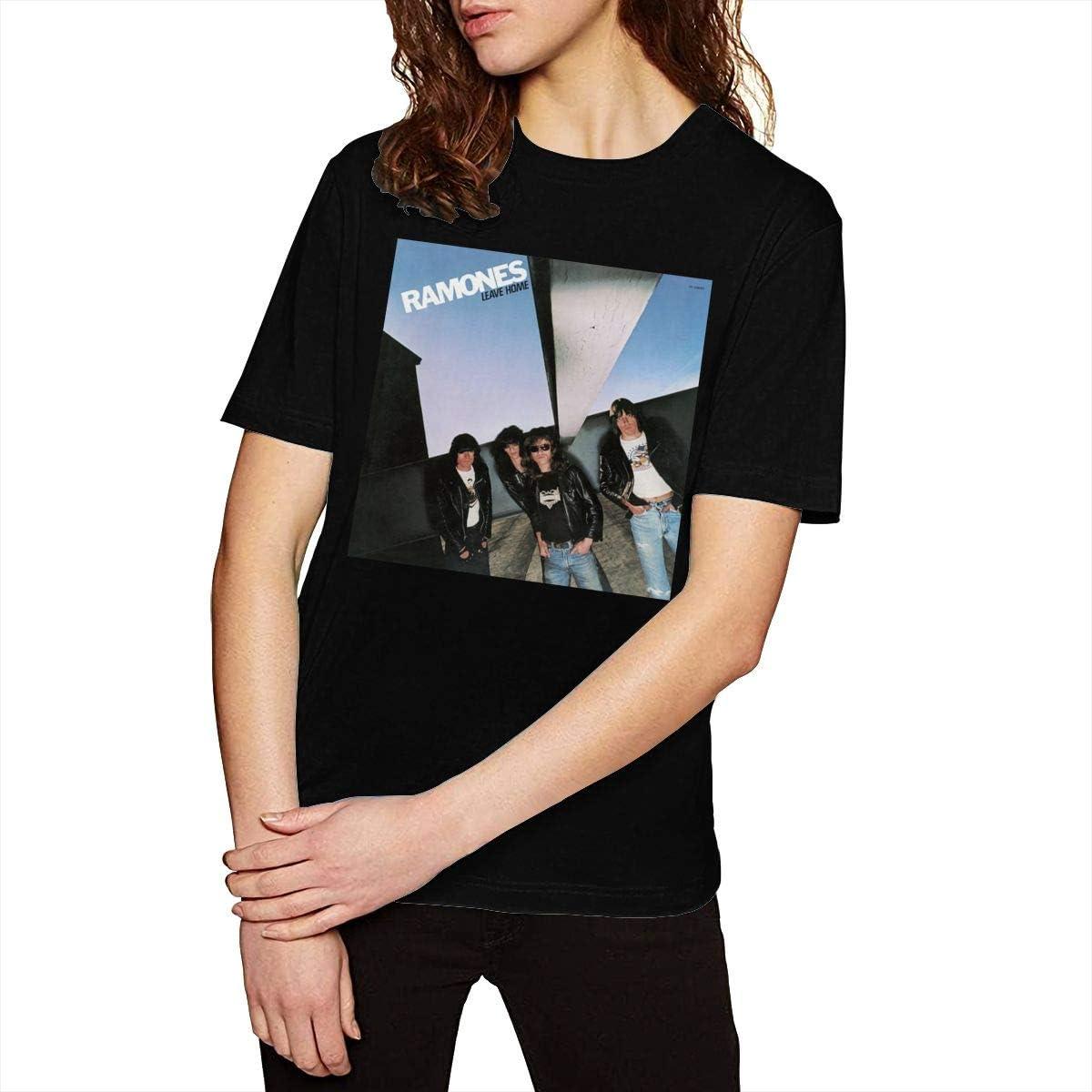 Ramones Leave Home Band Women's Shirt Classic Short Sleeve Gift T-Shirt