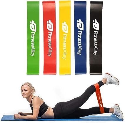 Amazon.com: Bandas de resistencia Fitness Alley, bandas de ...