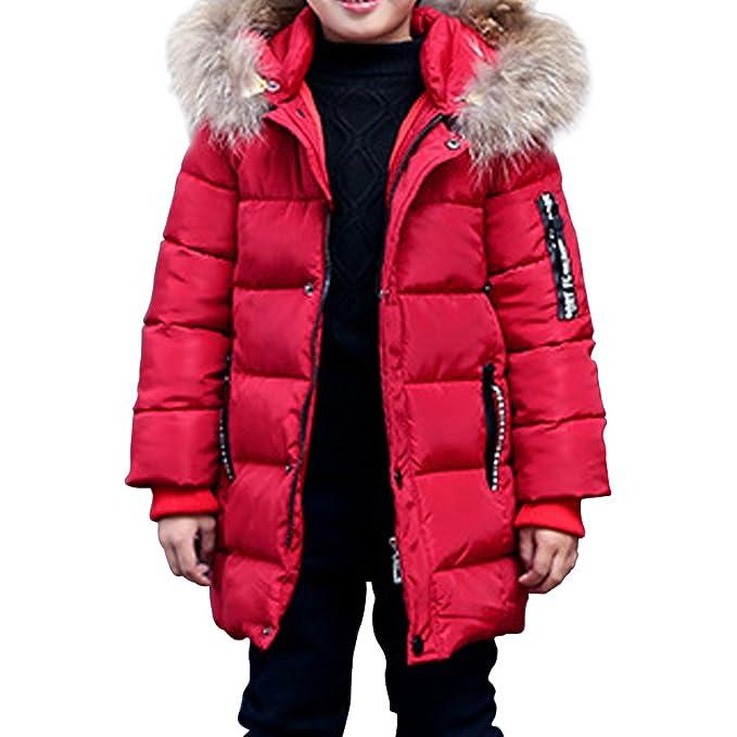 Phorecys niño Abrigo de Invierno con Capucha Forro niño Parka Invierno Nieve: Amazon.es: Ropa y accesorios