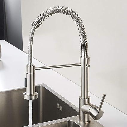 aimadi miscelatore da cucina rubinetto rubinetto cucina rubinetto miscelatore monocomando per lavello cucina doccetta estraibile con