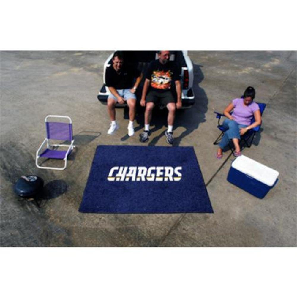 ファッションなデザイン ファンマットSan Diego Chargers Tailgaterラグ60