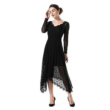 Kleid der Frau 2018 Neue Frauen Kleid Mode Spitze Unregelmäßige ...