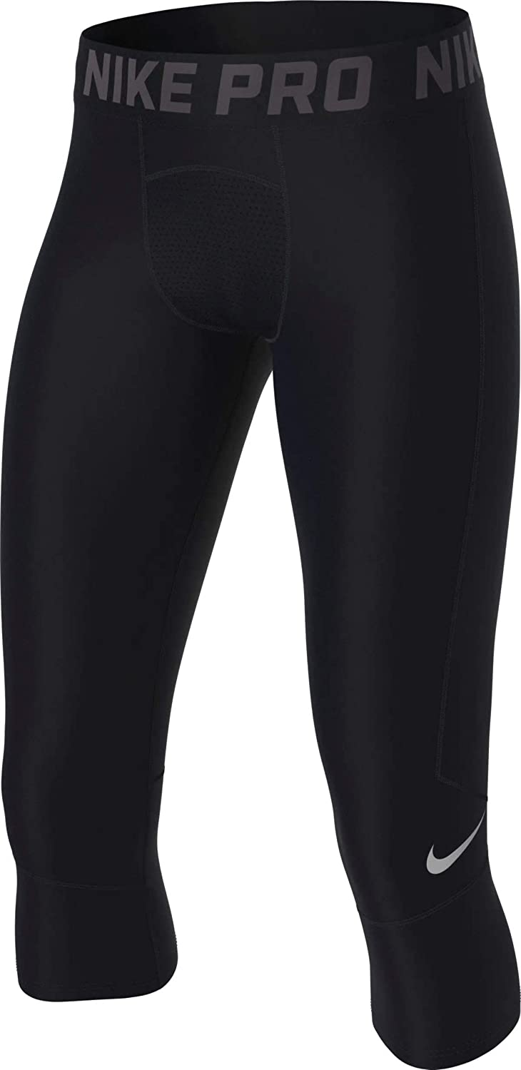 Nike Boys Cool Hbr Compression 3/4 Tight Youth (Little Big Kids): Clothing