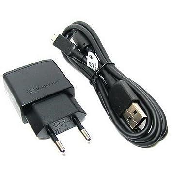 Original Negro 850 mAh Sony Micro USB 2 Pines Cargador de Red Empaquetado a granel Adecuado para Sony Xperia M2, Xperia M2 Dual, Xperia M2 Aqua, ...