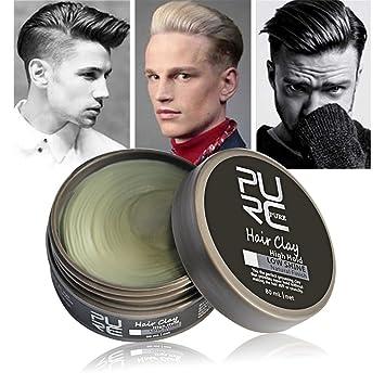 Amazon Com Men S Purc Cement Hair Clay Hubee Hair Styling Wax High