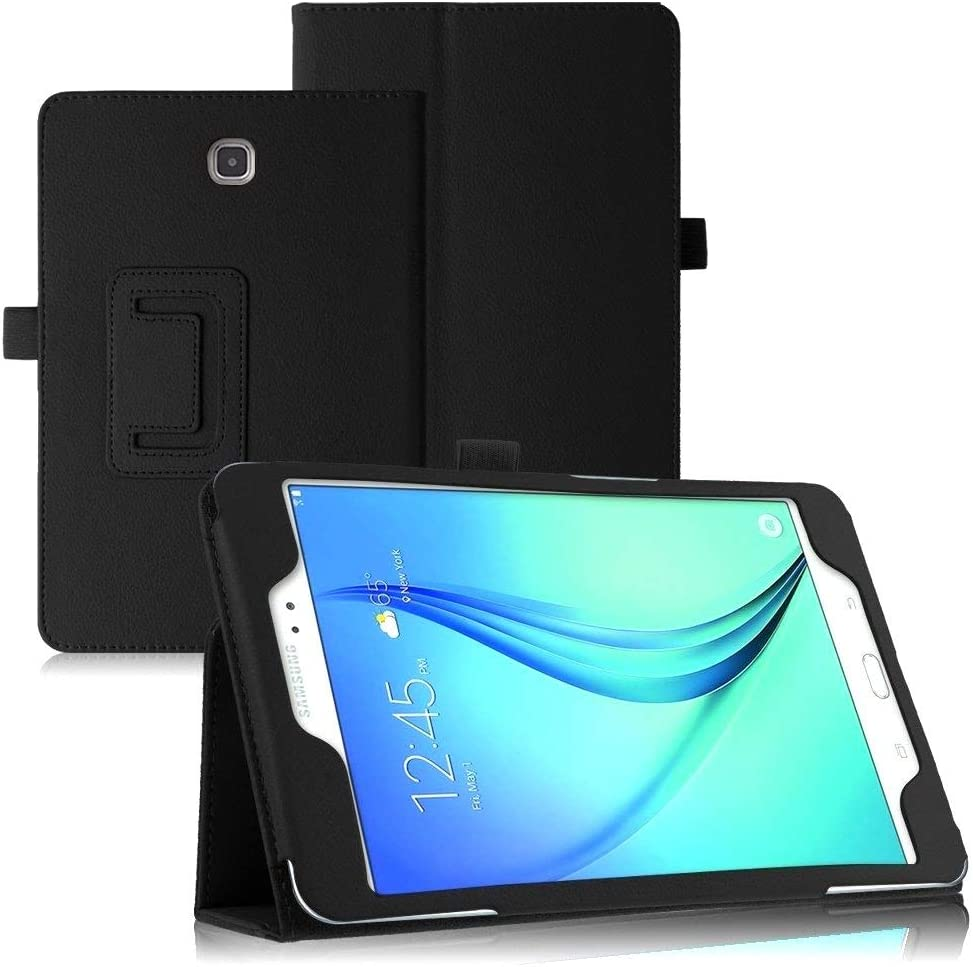 Samsung Galaxy Tab 3 7.0 Case,Samsung Tab 3 7 inch Case,Beebiz PU Leather Protective Case for Samsung Tablet Galaxy Tab 3 7.0-inch P3200 Smart Cover with Stand (Black) (#Black)