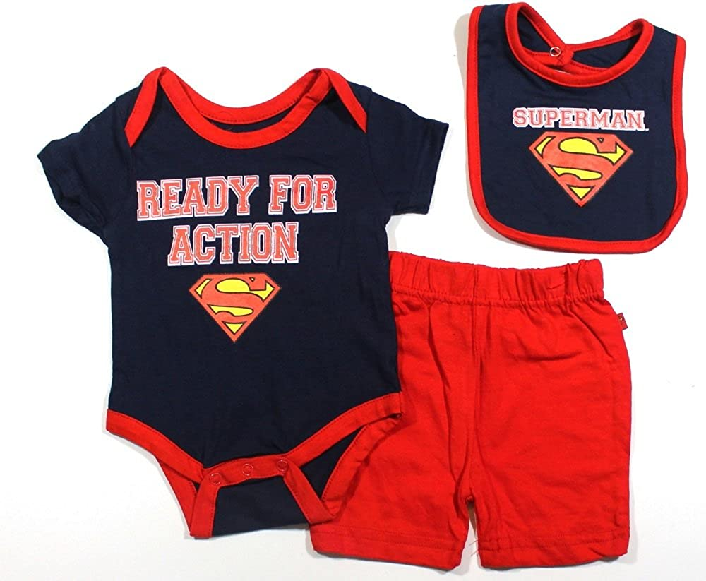 17566cf5c810 Amazon.com  KWC Baby Boys Superman Bodysuit