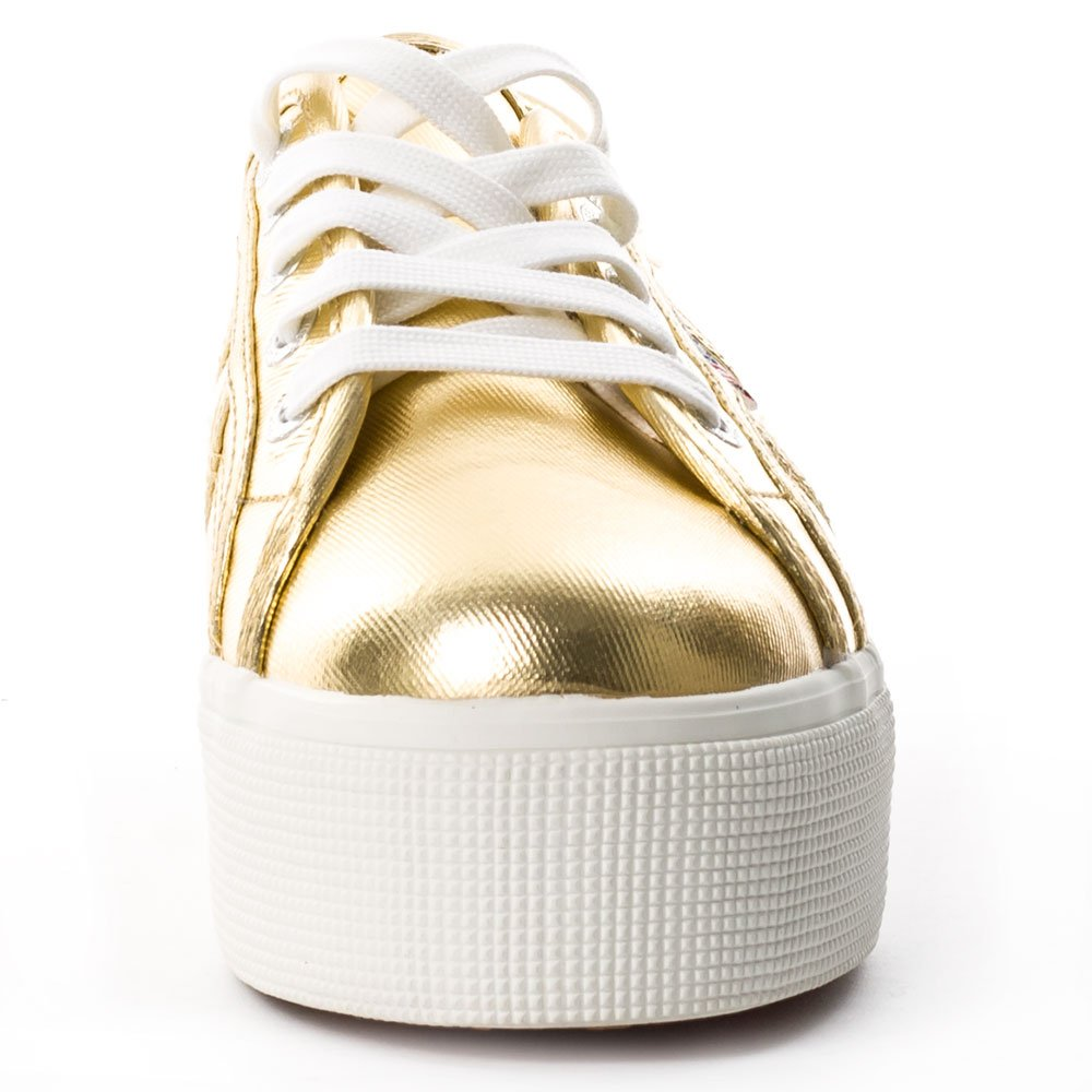 Superga Gold Damen 2790 Cotmetw Sneaker, Gold Superga 945740