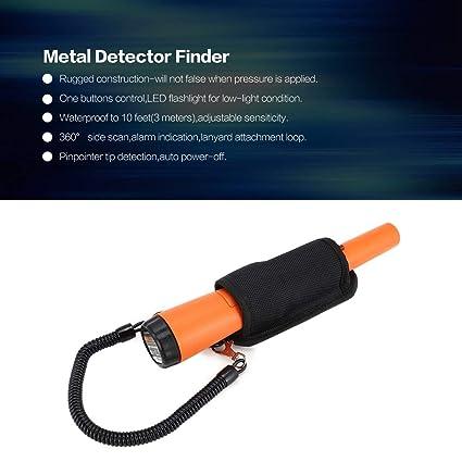 fghdfdhfdgjhh Impermeable Gold Hunter Pinpointer Detector de metales Buscador subterráneo Inteligente Sensor Alarma Caza Tesoro Desenterrar