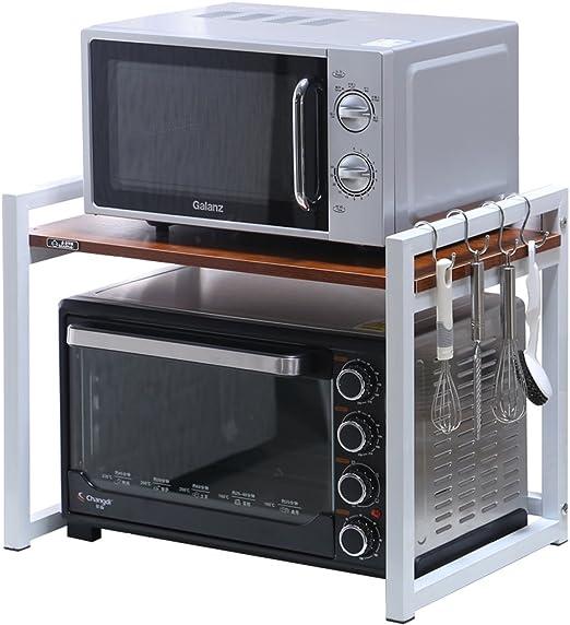 Kitchen Shelves Cocina de Madera Simple Almacenamiento en Rack de ...