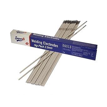 Arc Welding Welder Electrode Rod 1 Kg Kilo Mild Steel 2 5 mm Type 6013  WG/7397