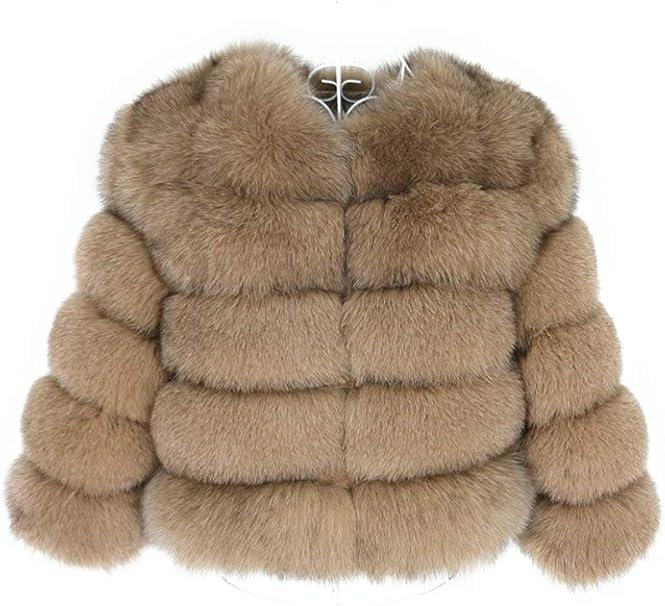 Lea Marie Damen Jacke aus 100% ECHTPELZ ECHTFELL Jacke