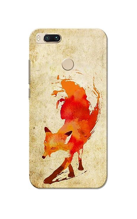 promo code 46f48 49178 Caseria Fire Fox Old Paper Slim Fit Hard Case Cover for: Amazon.in ...