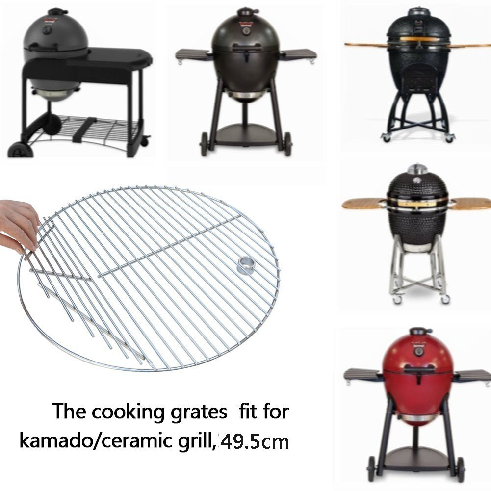 Onlyfire GCG-8501 Stainless Steel Hinged lift-up BBQ Grid Cooking